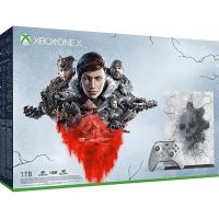 Consola Microsoft Xbox One X 1TB Limited Edition + Gears 5 Ultimate Edition